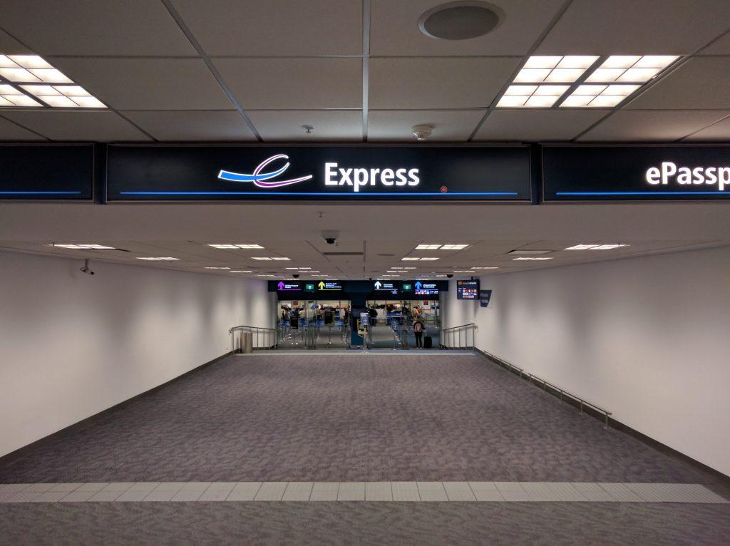 Sydney Australia Airport Express Exit
