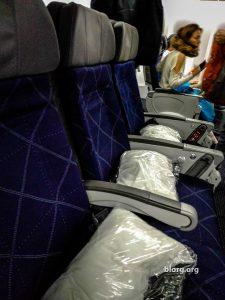 AA tokyo economy seats