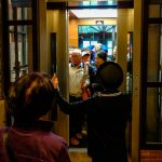 japan crowded elevator