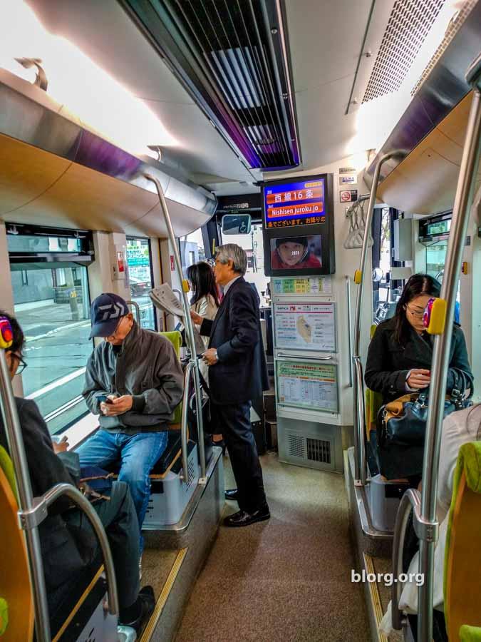 sapporo tram