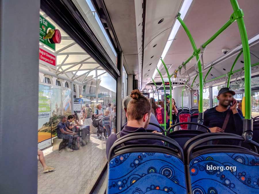 Malta airport bus
