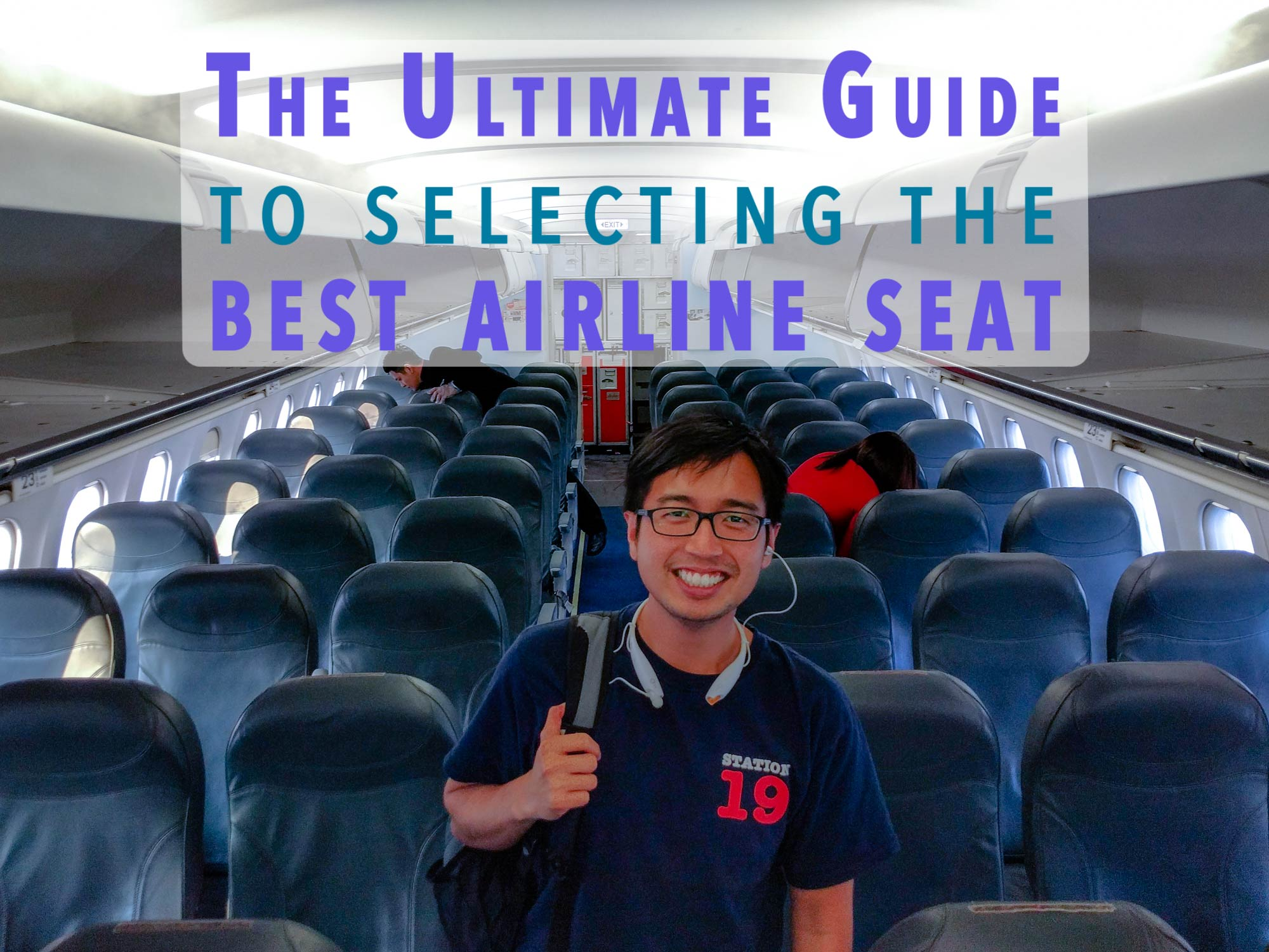 How To Pick An Airline Seat Tips For Pro Traveles Blorg