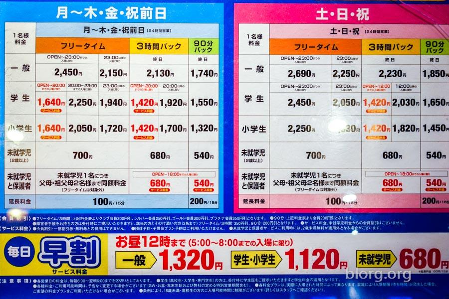 round 1 arcade pricing