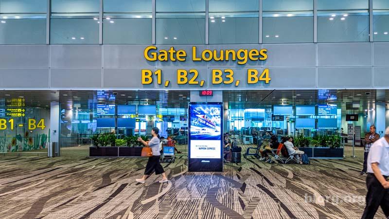 sinapore airport gates