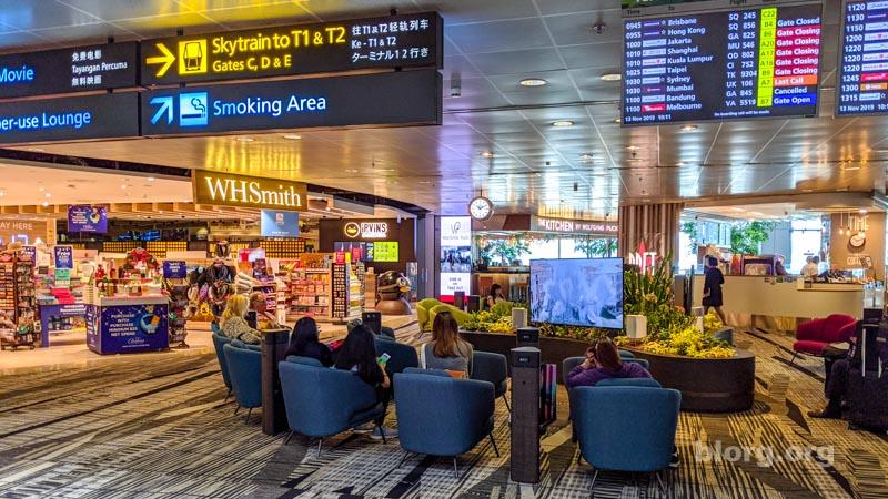 sinapore airport terminal