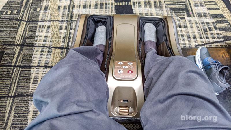 sinapore airport massage